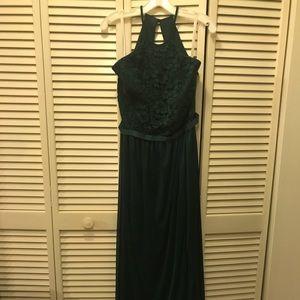 David's bridal juniper bridesmaid dress